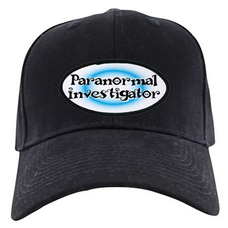 Paranormal investigator Black Cap