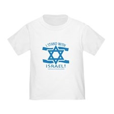 Stand with Israel Pocket T