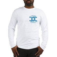 Stand with Israel Pocket Long Sleeve T-Shirt