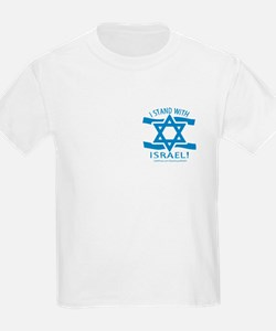 Stand with Israel Pocket Kids T-Shirt