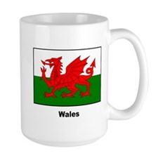 Wales Welsh Flag Mug
