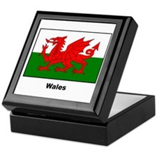 Wales Welsh Flag Keepsake Box