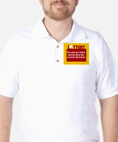 Lottery Scratch off - T-Shirt