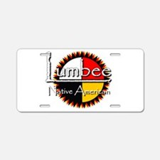 Lumbee Aluminum License Plate