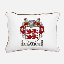 Clancy Coat of Arms Rectangular Canvas Pillow