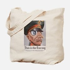 THIS IS THE ENEMY Tote Bag