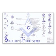 Masonic Structure Decal