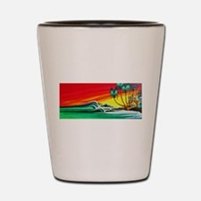 Touch of Paradise Shot Glass