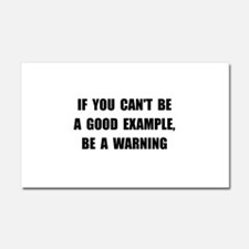 Good Example Warning Car Magnet 20 x 12