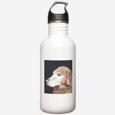 """Golden Retriever"" Water Bottle"