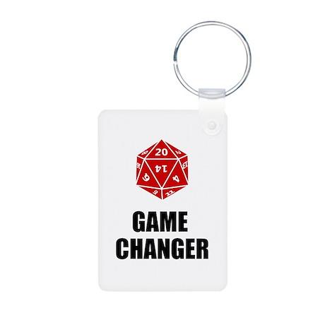 Game Changer Aluminum Photo Keychain