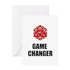 Game Changer Greeting Card