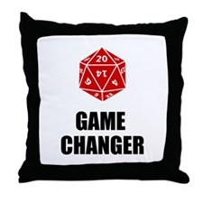 Game Changer Throw Pillow