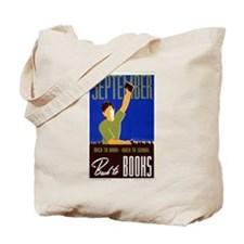 Back to School WPA Tote Bag
