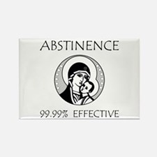 Abstinence Effective Rectangle Magnet (10 pack)