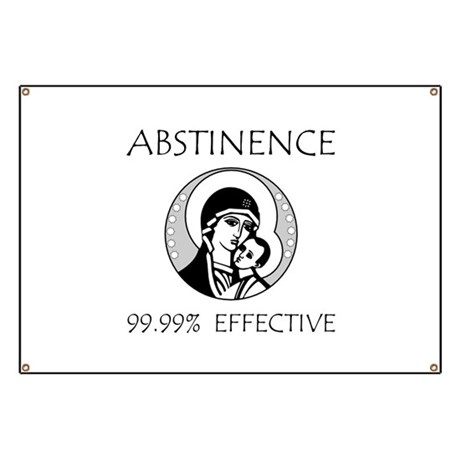 Abstinence Effective Banner