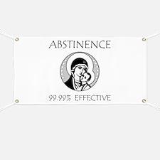 Abstinence Effective Banner