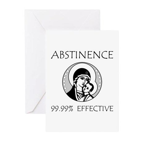 Abstinence Effective Greeting Cards (Pk of 20)