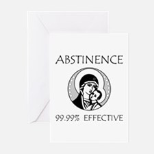 Abstinence Effective Greeting Cards (Pk of 10)