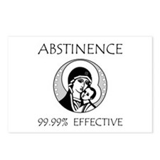 Abstinence Effective Postcards (Package of 8)