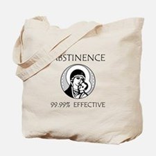 Abstinence Effective Tote Bag