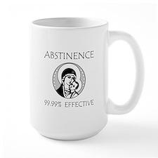Abstinence Effective Mug