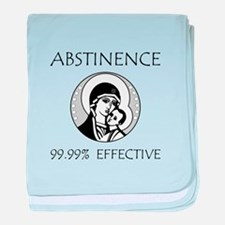 Abstinence Effective baby blanket