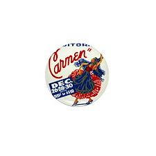 Vintage Carmen Opera Mini Button
