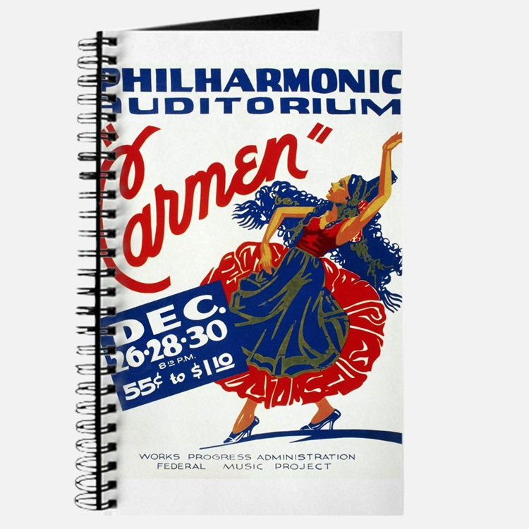 Vintage Carmen Opera Journal