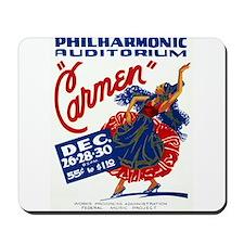 Vintage Carmen Opera Mousepad