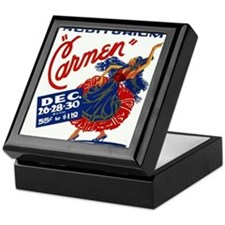 Vintage Carmen Opera Keepsake Box