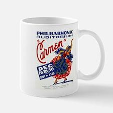 Vintage Carmen Opera Mug