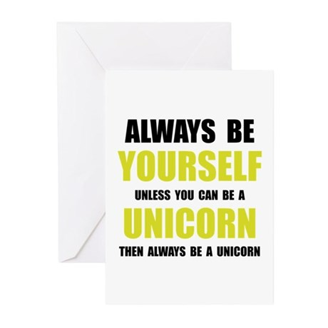 Always Be Unicorn Greeting Cards (Pk of 10)