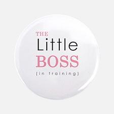"""Little Boss 3.5"""" Button"""