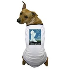Yellowstone National Park WPA Dog T-Shirt