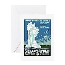 Yellowstone National Park WPA Greeting Card