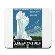 Yellowstone National Park WPA Mousepad
