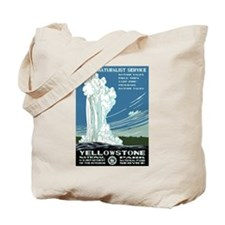 Yellowstone National Park WPA Tote Bag