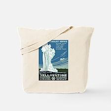 Yellowstone National Park WPA Tote Bag