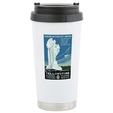 Yellowstone National Park WPA Travel Mug