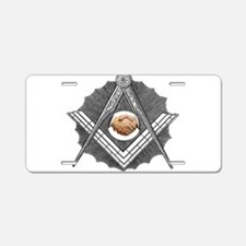 Friendship Aluminum License Plate