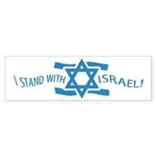 Stand with Israel Pocket Bumper Bumper Sticker