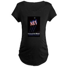 Vintage National Art Week T-Shirt