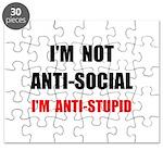 Anti Stupid Puzzle