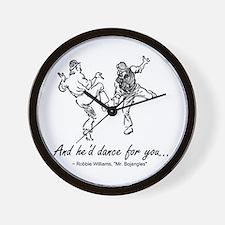 Mr. Bojangles Wall Clock