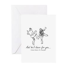 Mr. Bojangles Greeting Card