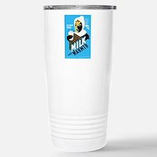 Vintage Milk for Warmth Travel Mug