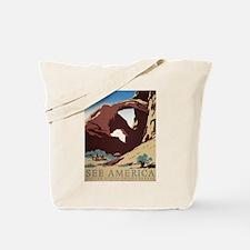 See America Desert Tote Bag