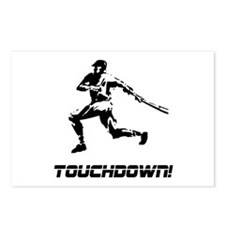 Baseball Touchdown Postcards (Package of 8)