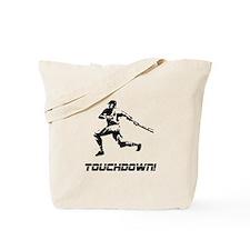 Baseball Touchdown Tote Bag
